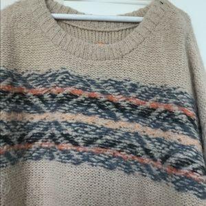 Free people oversized layering sweater xs/s